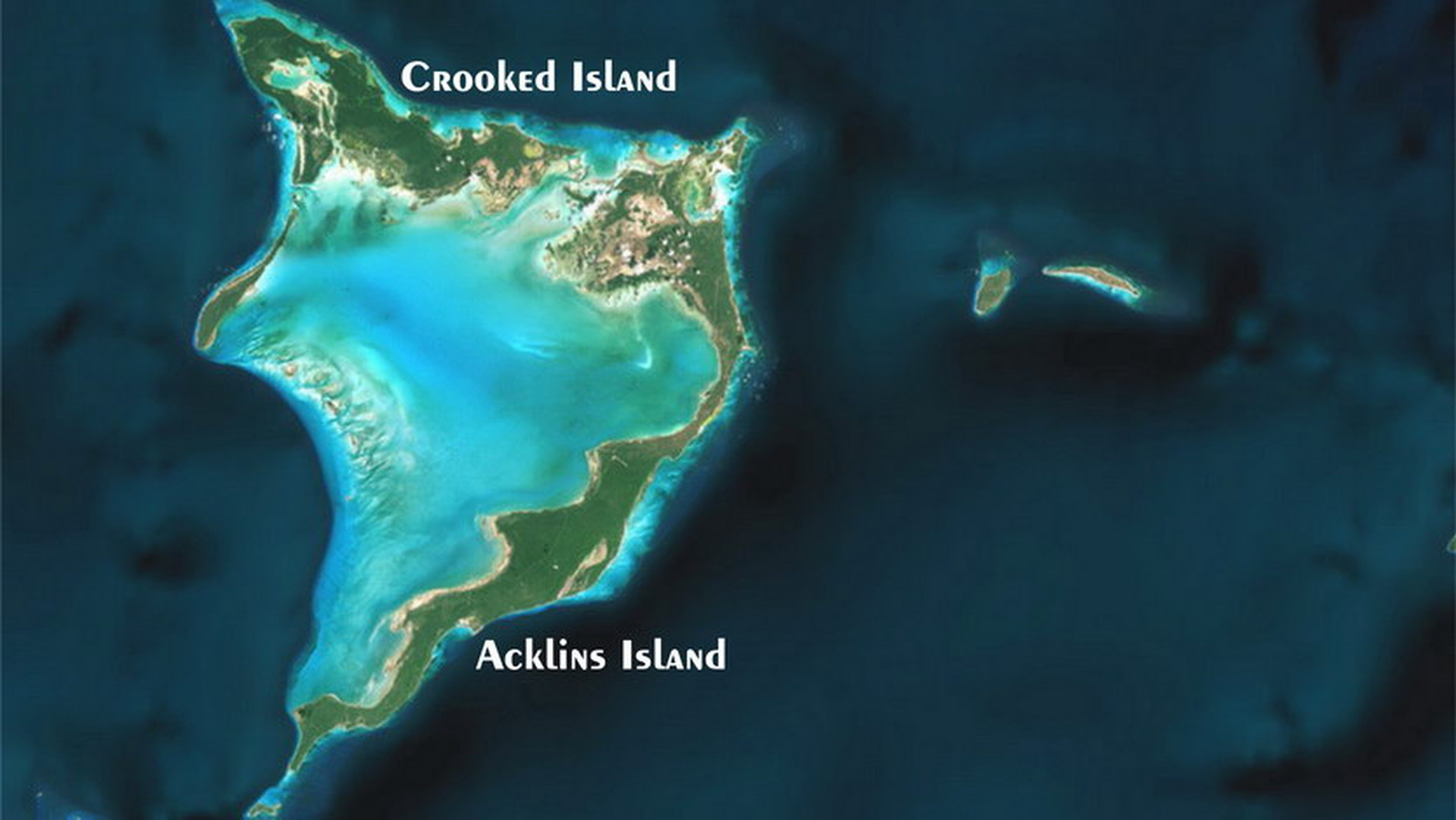 Crooked & Acklins Islands, Bahamas