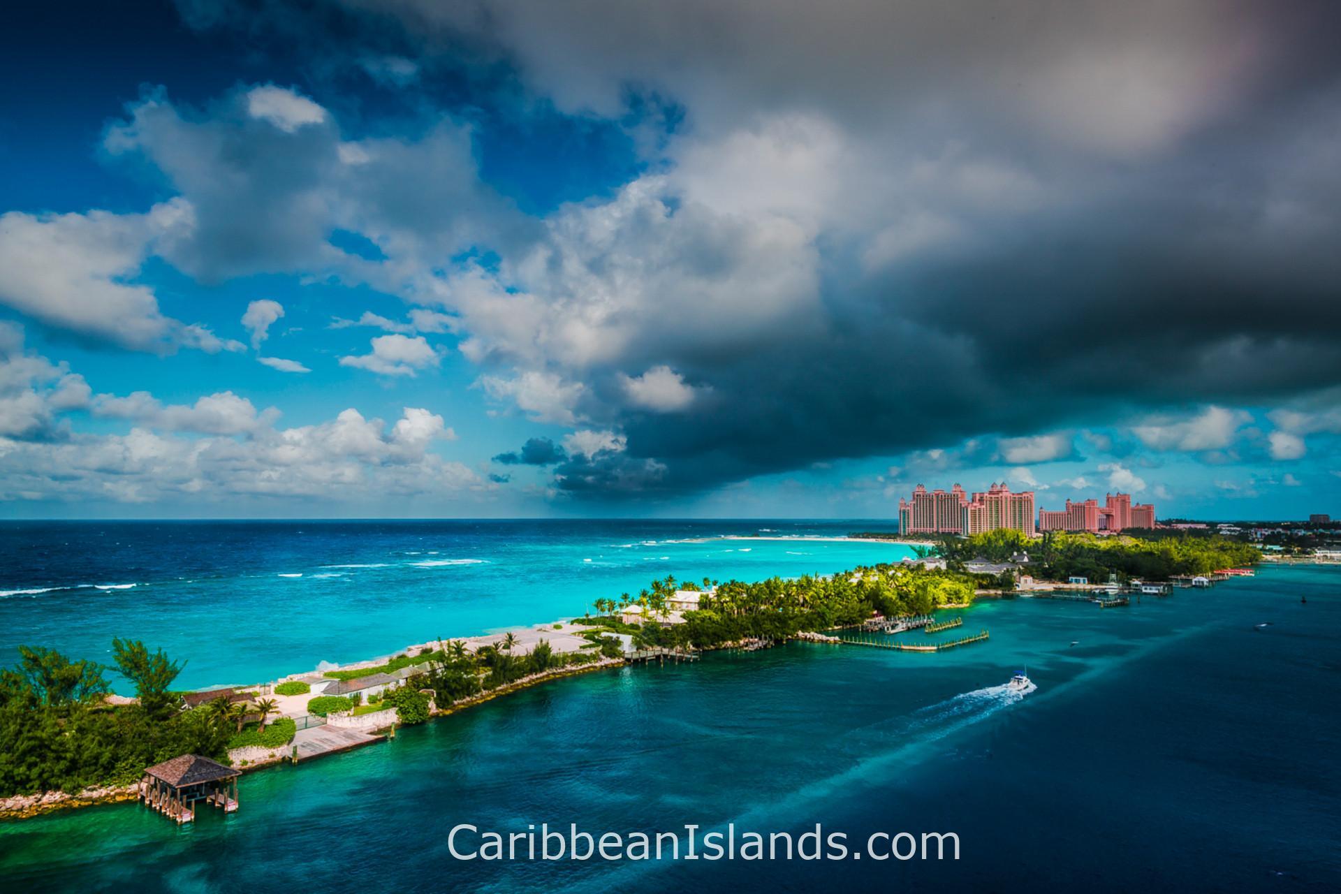 The Bahamas islands, Caribbean